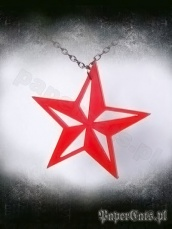 Nautical star-czerwona